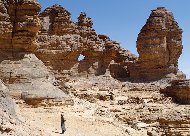 Das Ennedi Massiv, bizarre Felsformationen, Explore Chad