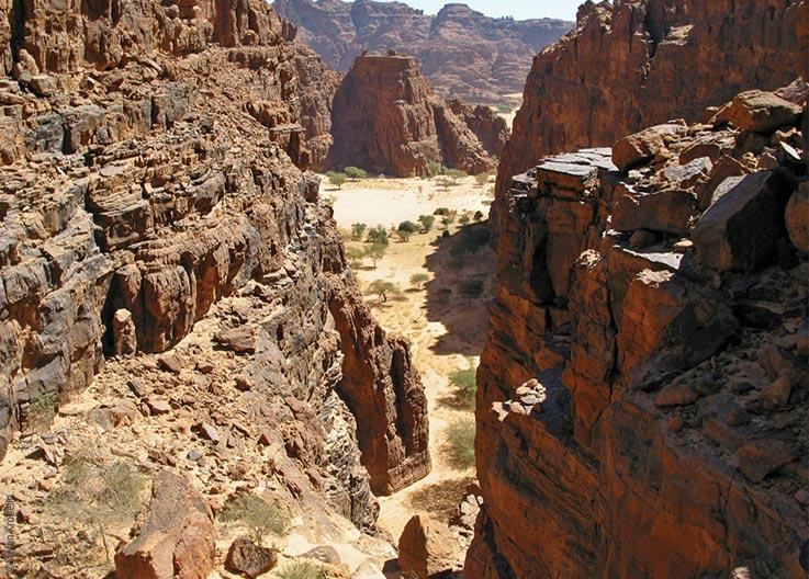 Das Ennedi Massiv, Schluchten, Explore Chad