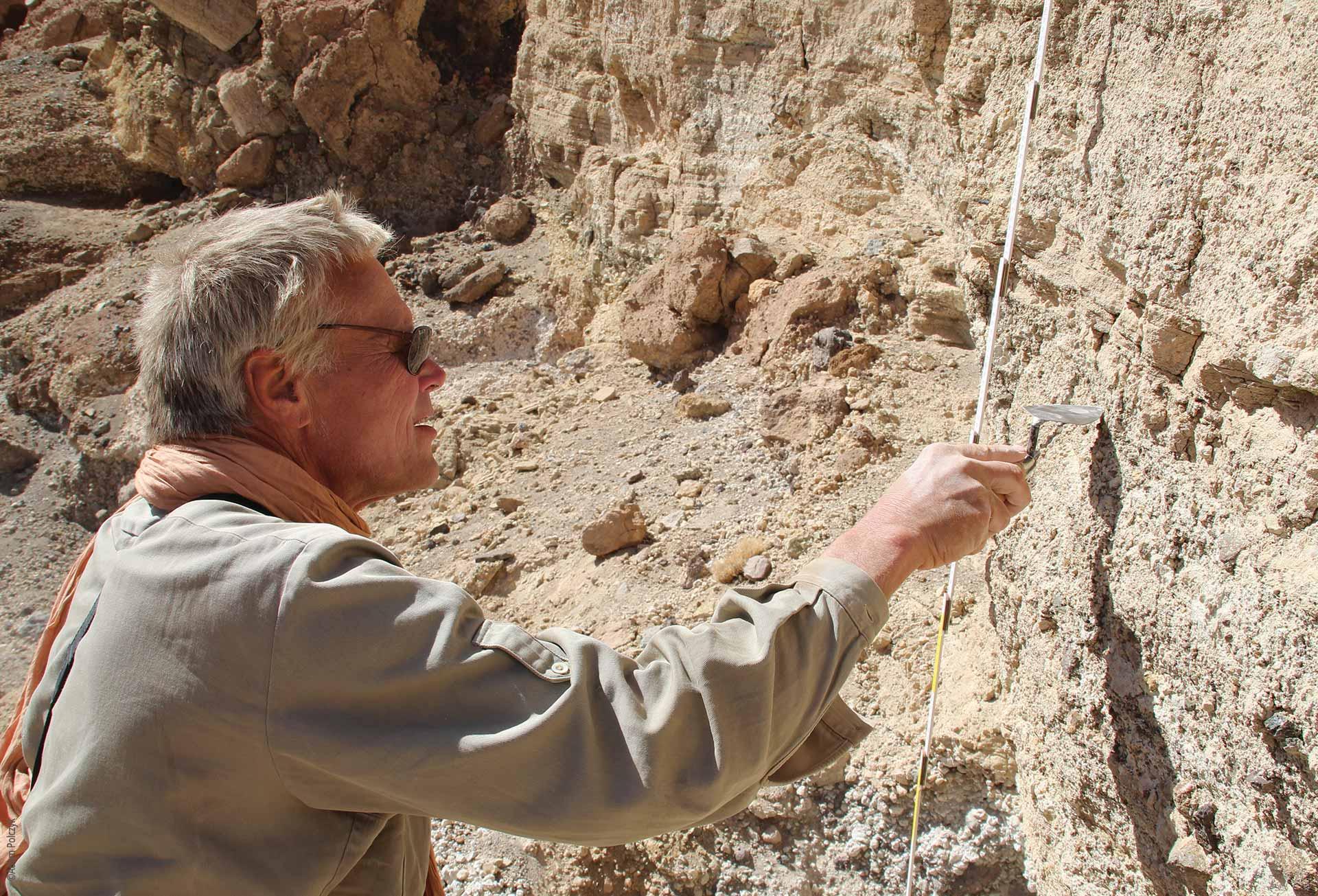 Forschungen und Expeditionen im Norden des Tschad, Geologische Untersuchungen, Stefan Kröpelin, Explore Chad