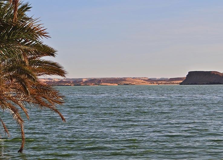 Die Seen von Ounianga, Blick auf den See, Explore Chad