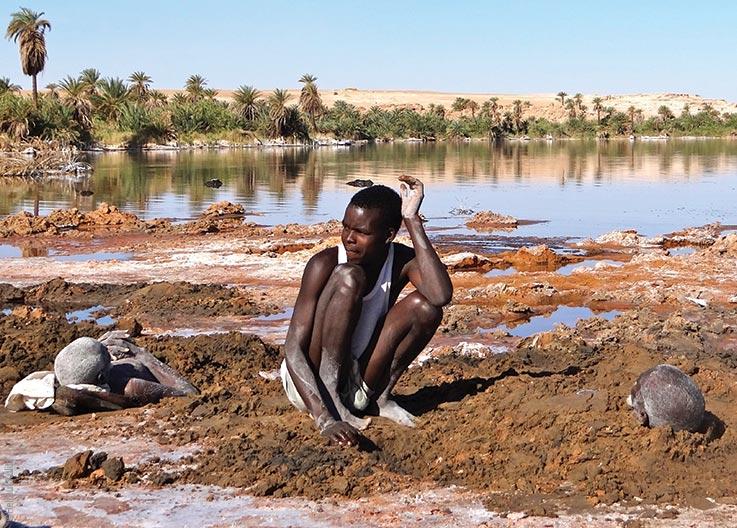 Die Seen von Ounianga, Schlammpackungen, Explore Chad