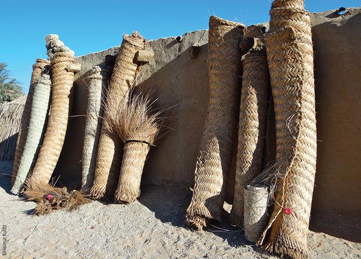 Die Seen von Ounianga, Mattenherstellung, Explore Chad
