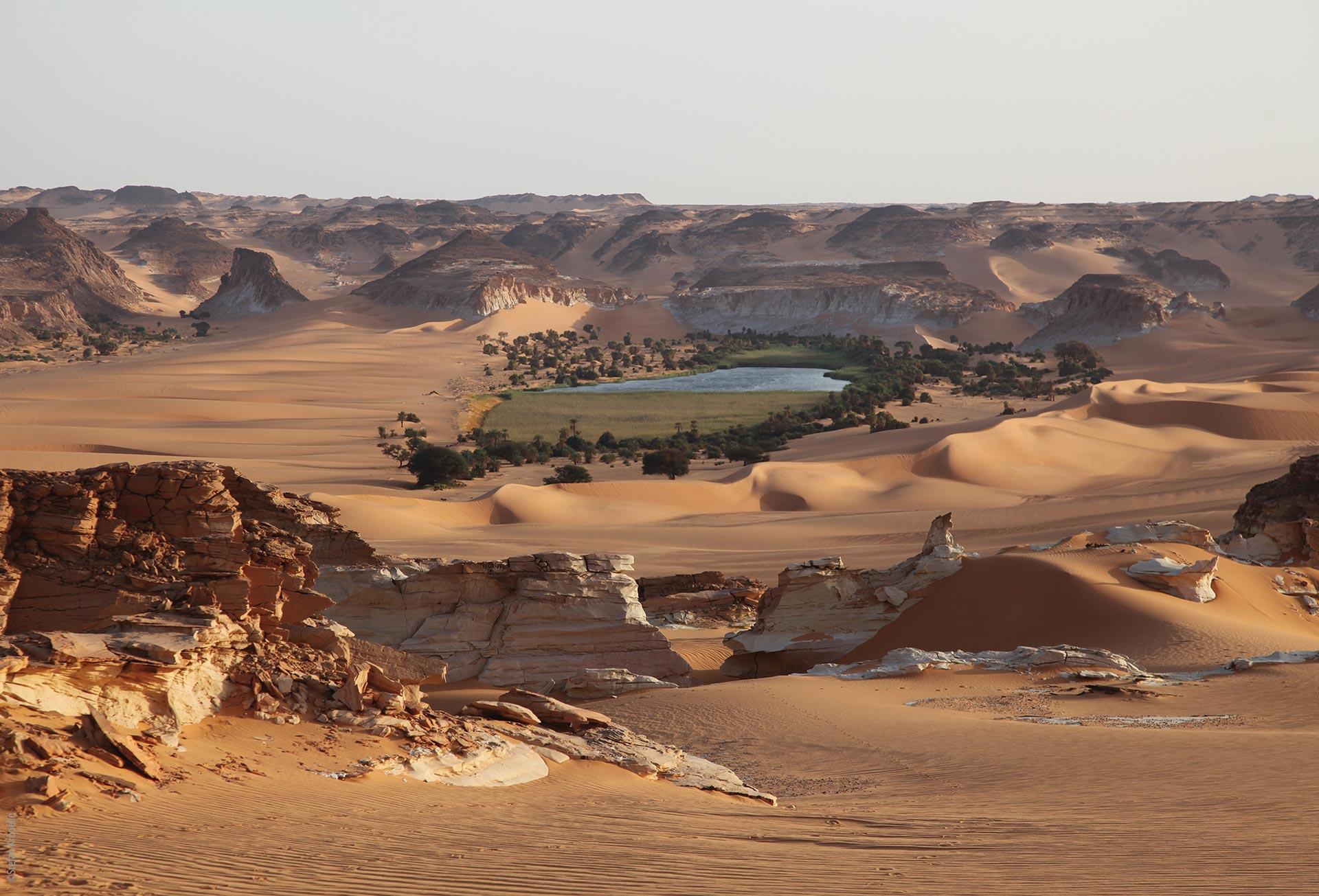 Die Seen von Ounianga, Ounianga Serir, Lac Bokou und Wüstenlandschaft, Explore Chad