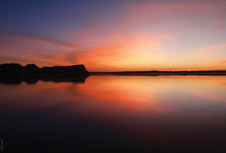 Die Seen von Ounianga, Lac Yoa bei Sonnenuntergang, Explore Chad