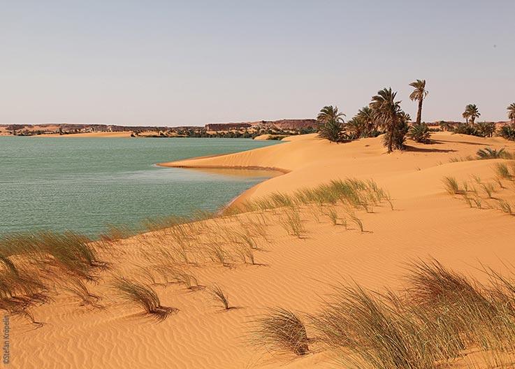 Die Seen von Ounianga, Sanddünen, Explore Chad