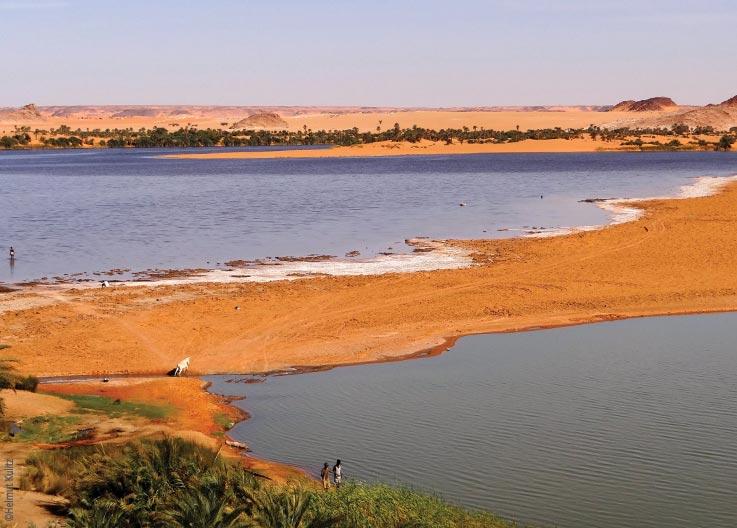 Die Seen von Ounianga, Sandbank, Explore Chad