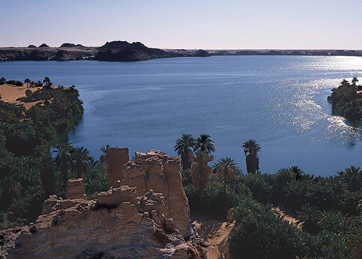 Forschungen und Expeditionen im Norden des Tschad, die Seen von Ounianga, Ounianga Kebir, Explore Chad