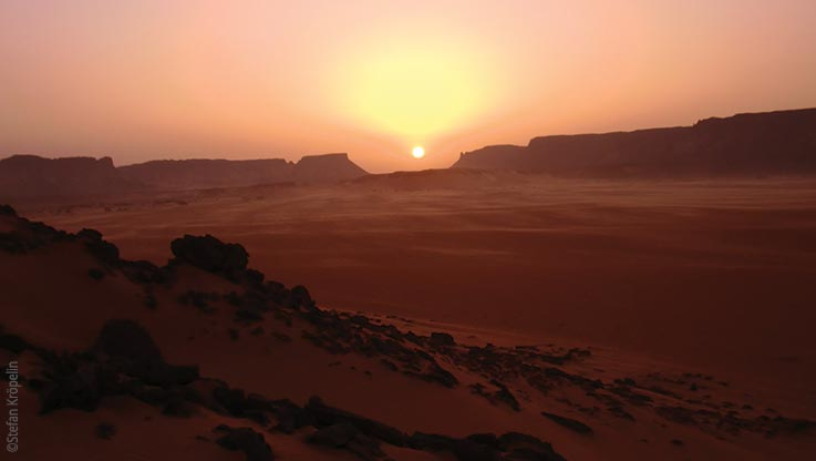 Expedition to Ounianga, sunset, Explore Chad