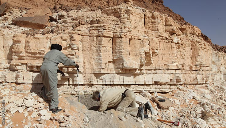 Expedition nach Ounianga, Geologische Untersuchungen, Explore Chad