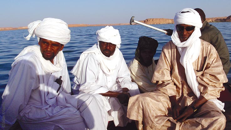 Expedition nach Ounianga, Würdenträger von Ounianga, Explore Chad