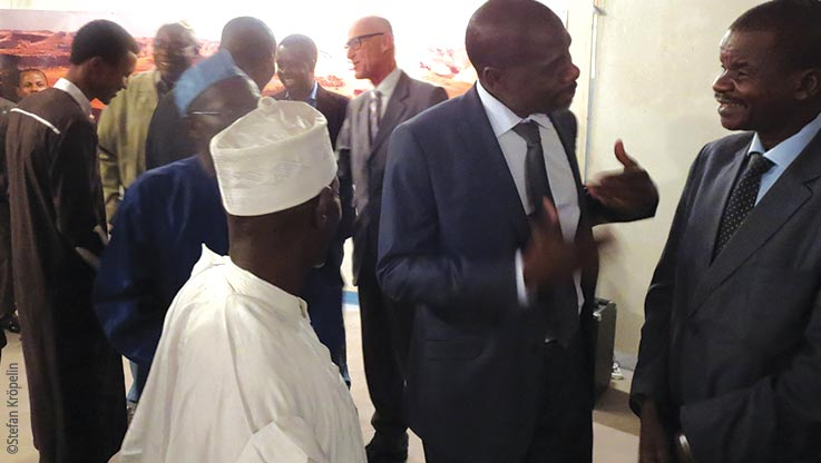 Expedition to Ounianga, official appointments, Explore Chad