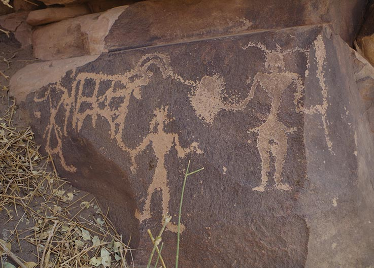 The Tibesti Mountains, prehistoric rock art, Explore Chad