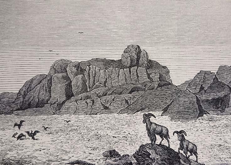 Das Tibesti Gebirge, Gustav Nachtigal, Sahara und Sudan, Tibesti-Felsgruppe Gour, Explore Chad