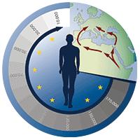 """Sonderforschungsbereich 806 """"Unser Weg nach Europa"""", Logo, Explore Chad"""